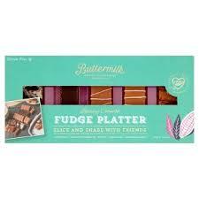 Buttermilk Slice & Share Fudge Platter