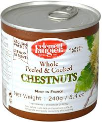 Clement Faugier Whole Peeled Chestnuts