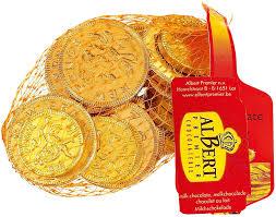 Albert Milk Chocolate Coins
