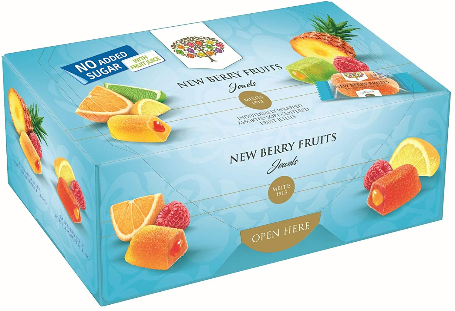 Meltis New Berry Fruits Jewels (no added sugar)