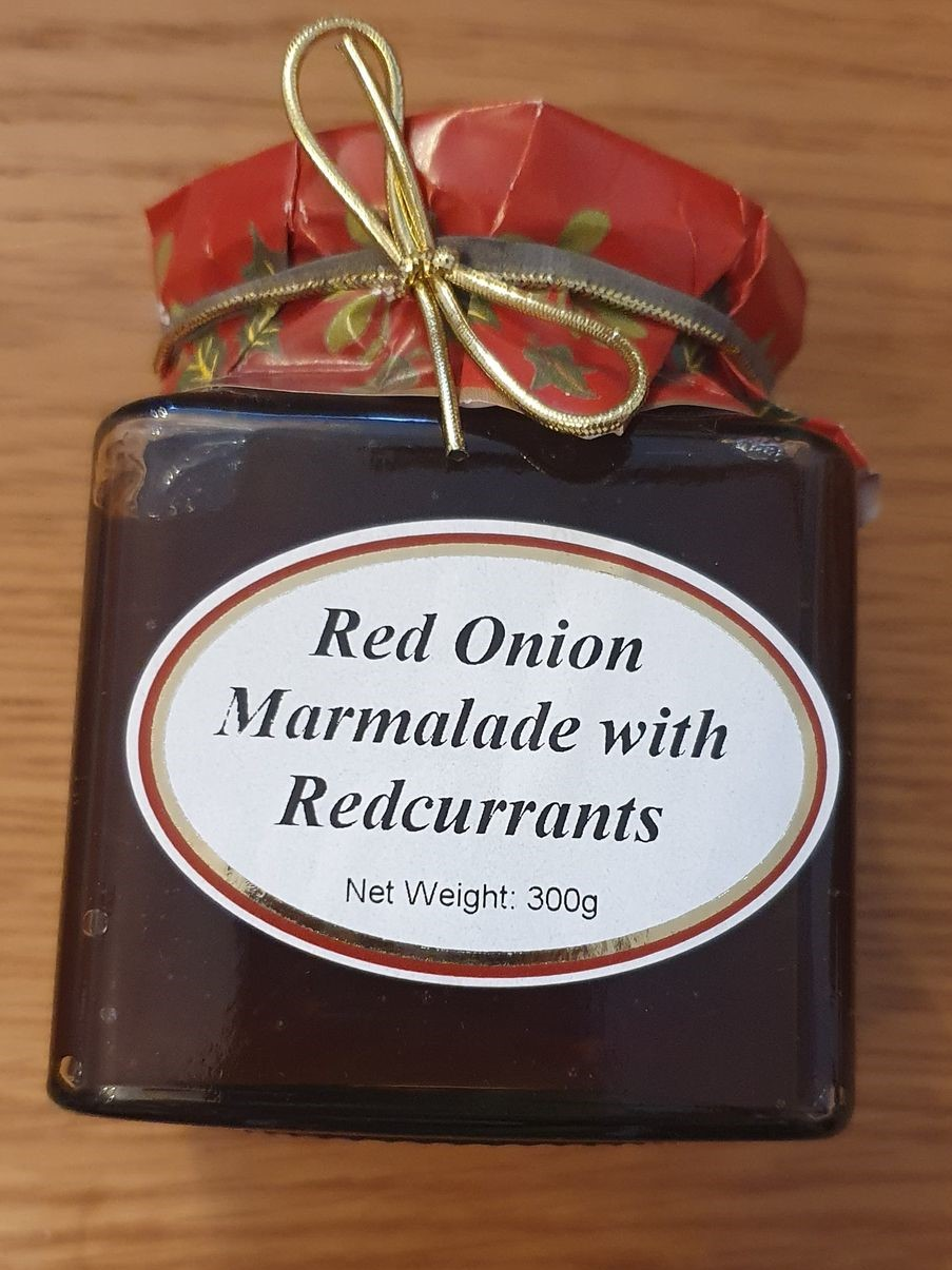 Highfields Red Onion Marmalade with Redcurrants