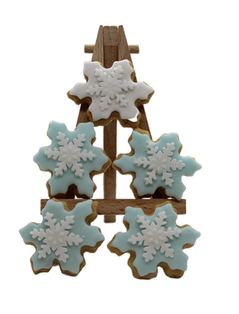 Cookielicious & Co Snowflake Cookies