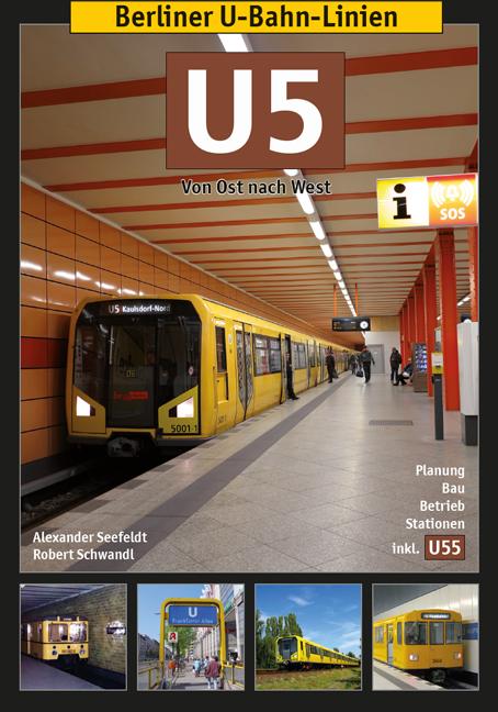 Berliner U-bahn-Linien: U5