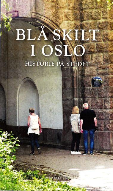 Blå skilt i Oslo
