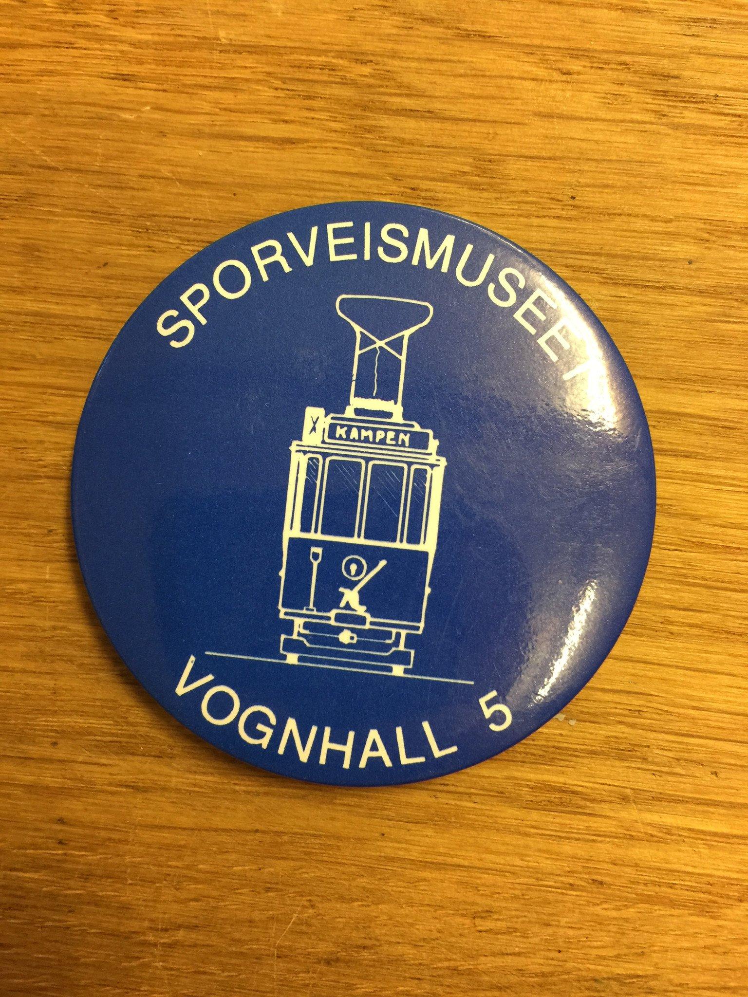 Button - Sporveismuseet Vognhall 5