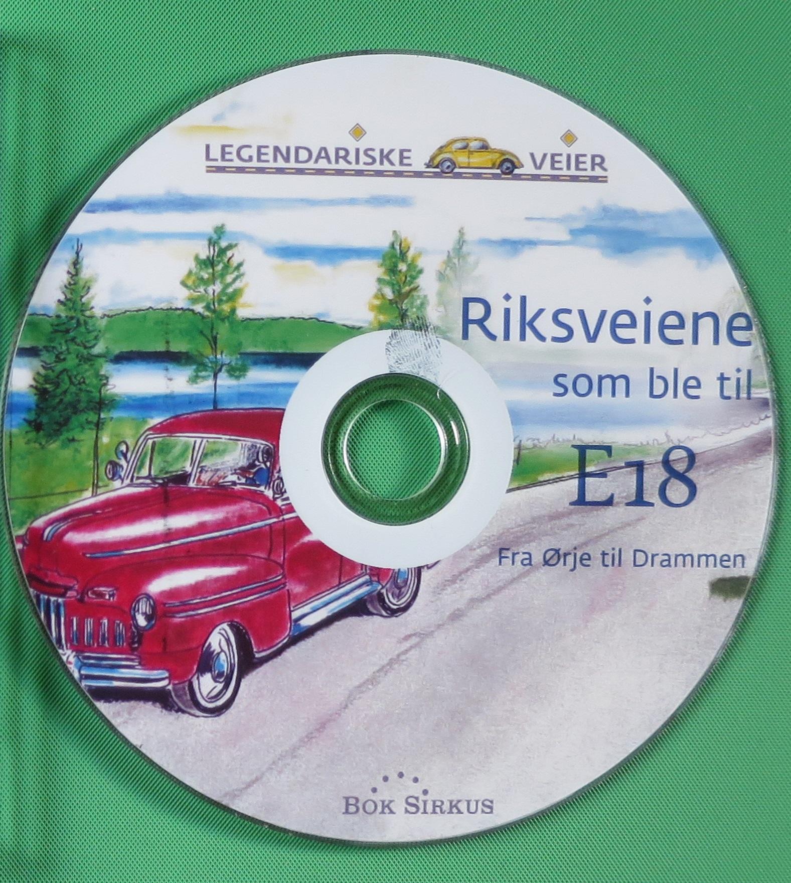 Riksveiene som ble til E18 (DVD)