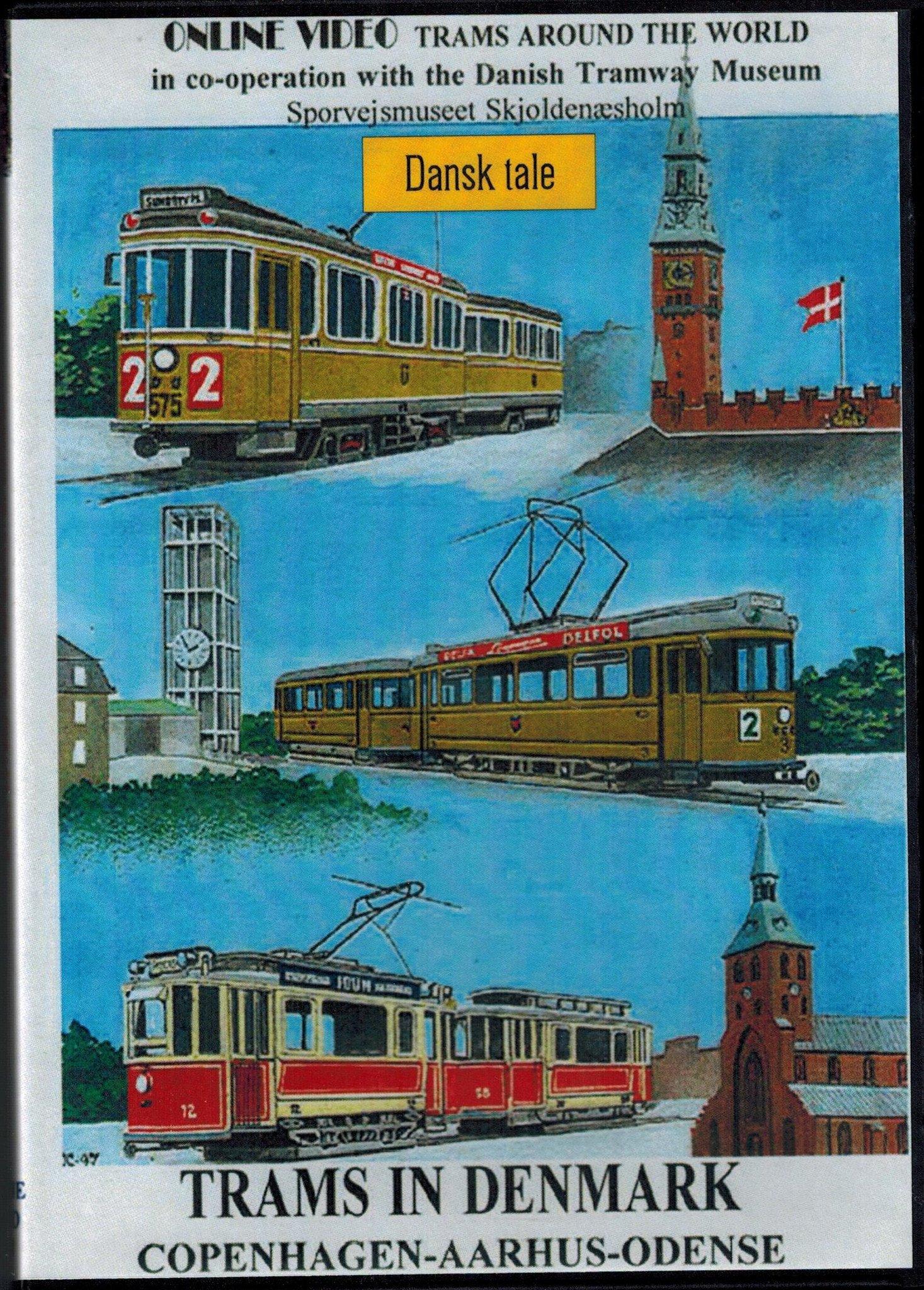 Sporvogne i Danmark/Trams in Denmark - Copenhagen - Aarhus - Odense