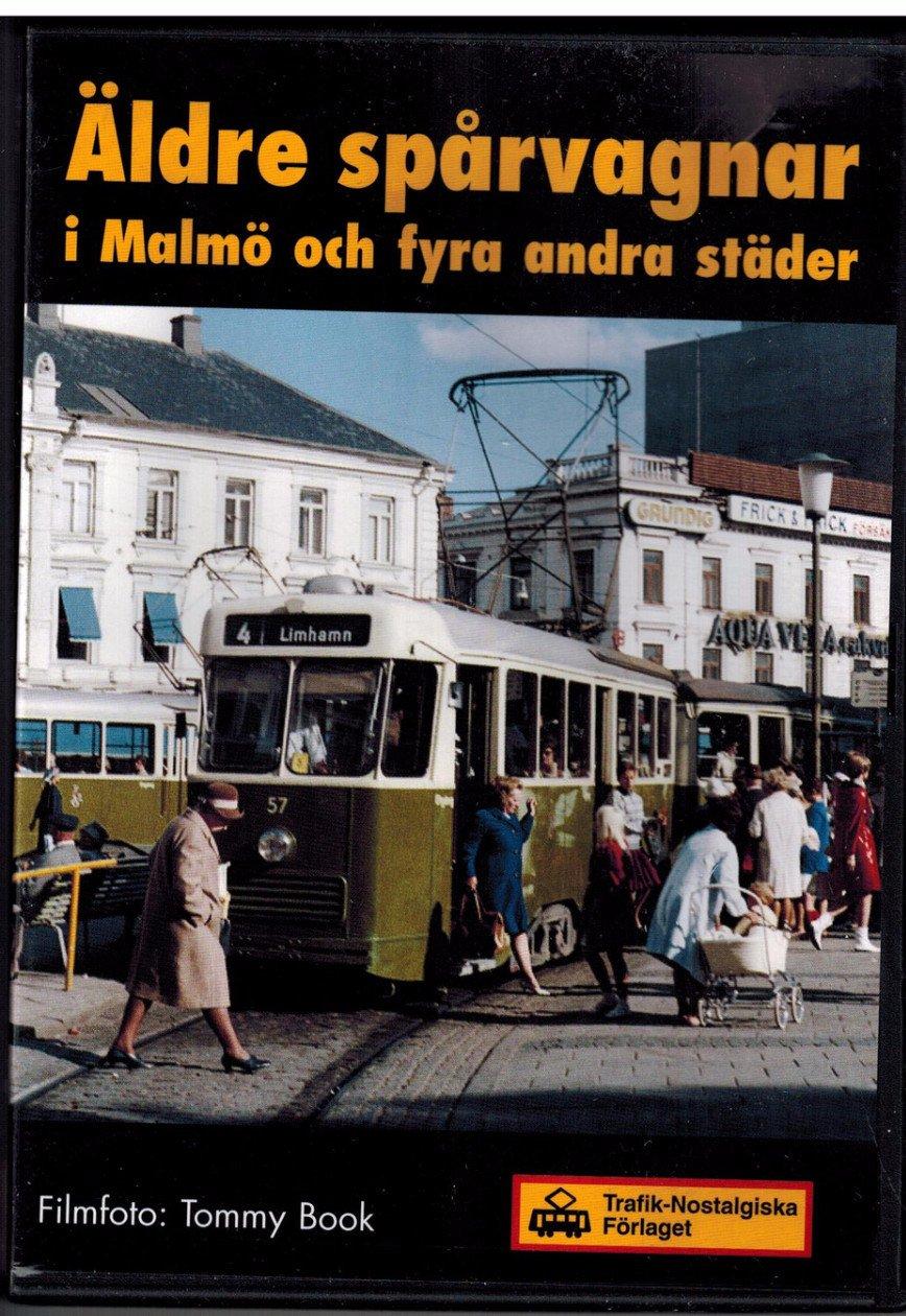 Äldre spårvagnar i Malmö och fyra andra städer