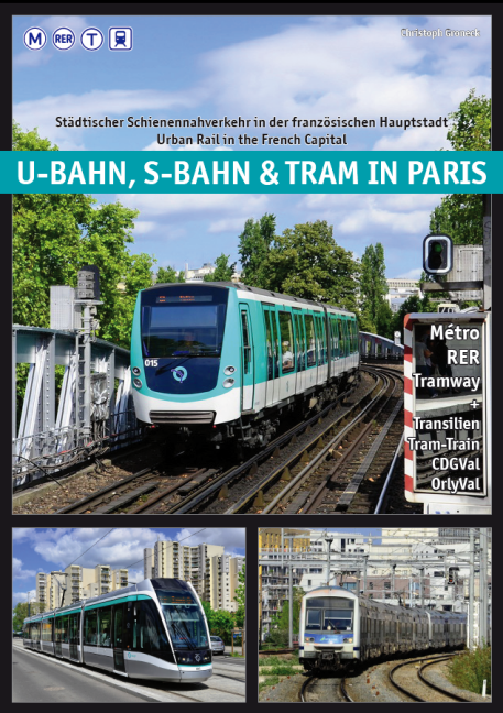 U-bahn, S-bahn & Tram in Paris