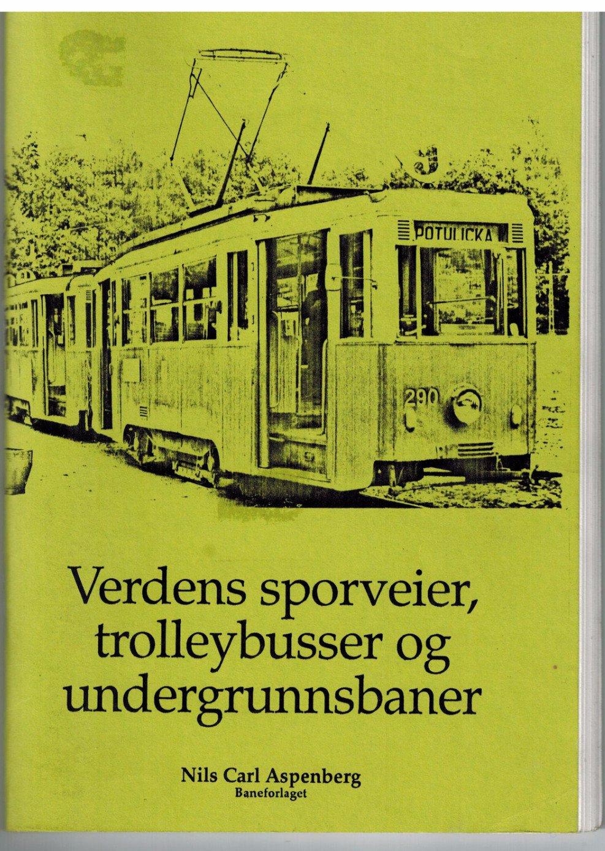 Verdens sporveier, trolleybusser og undergrunnsbaner