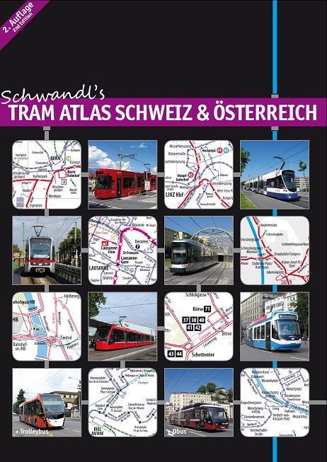 Tram Atlas Schweiz & Österreich (2nd edition)