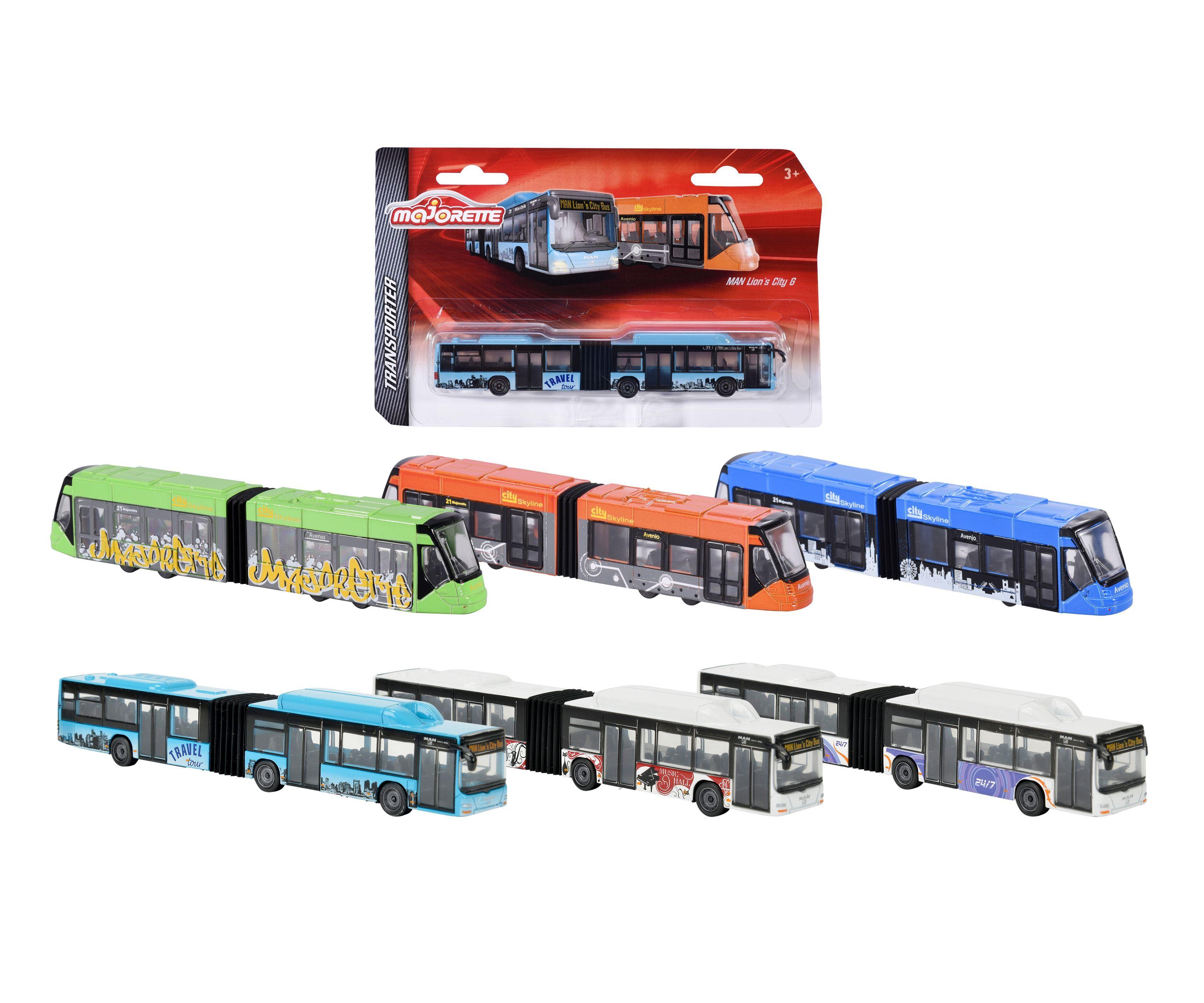 Majorette MAN City bus / Siemens Avenio tram