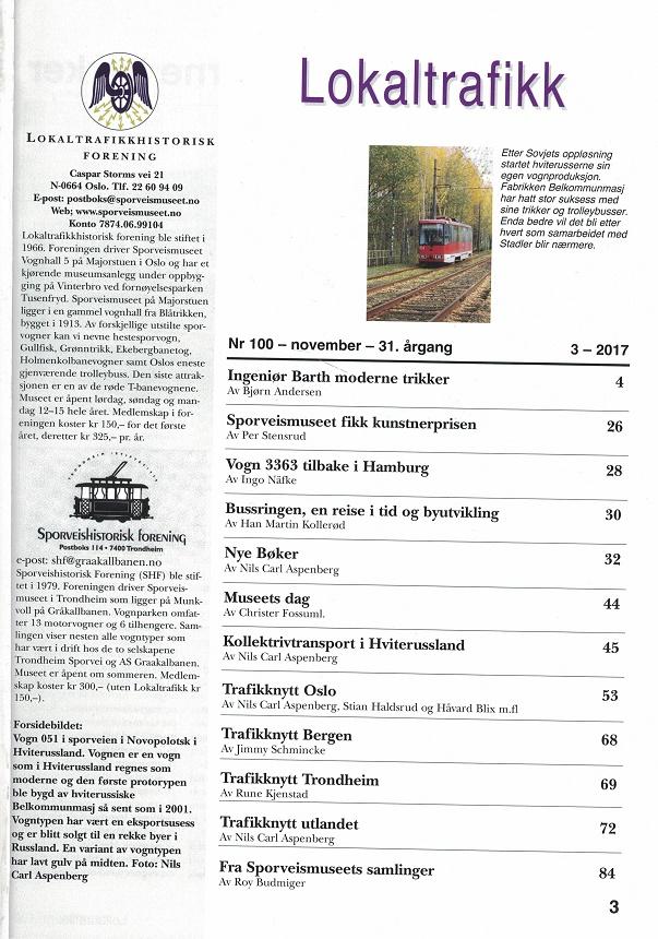 Lokaltrafikk #100