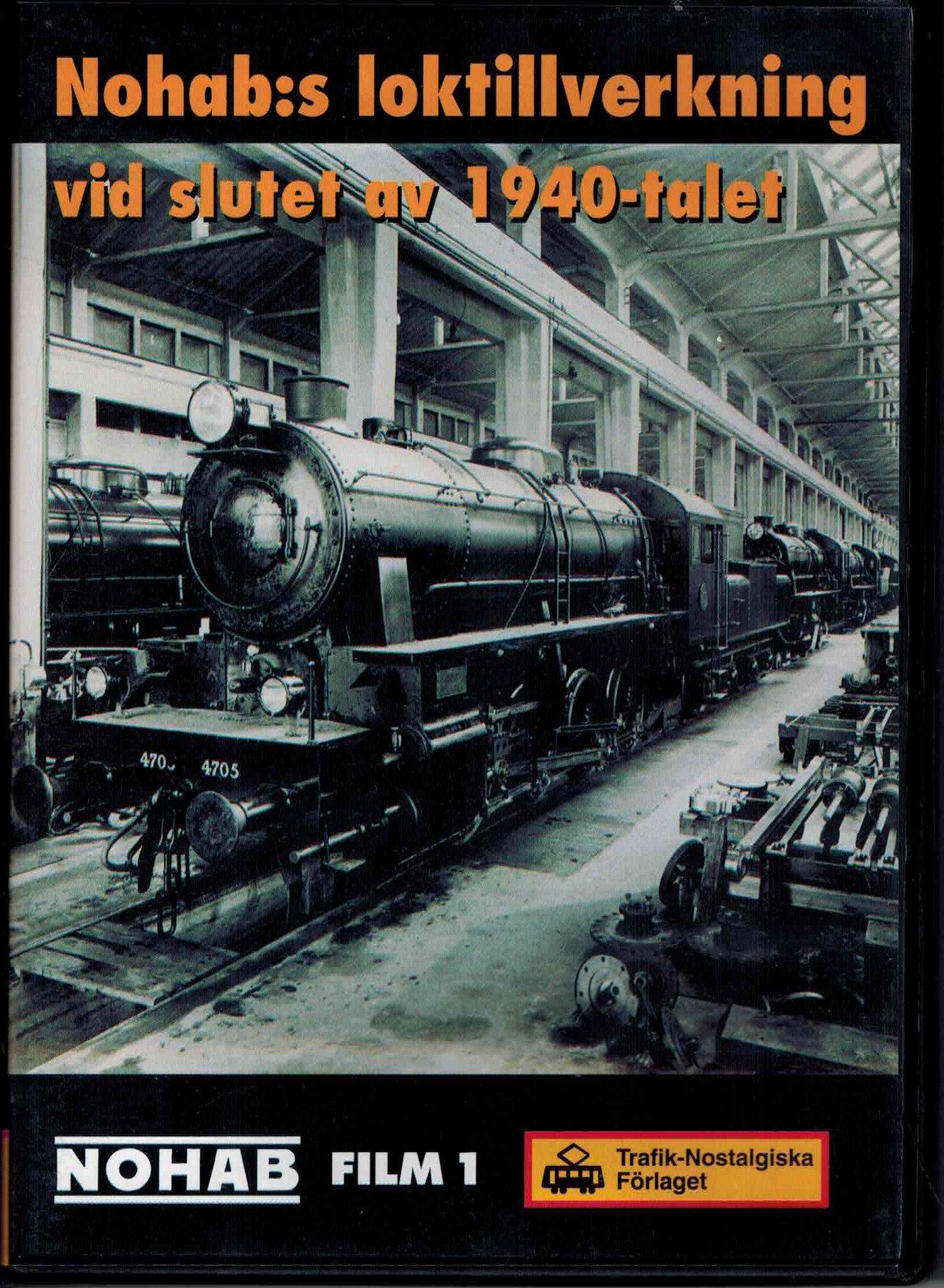 Nohab:s loktilverkning vid slutet av 1940-talet