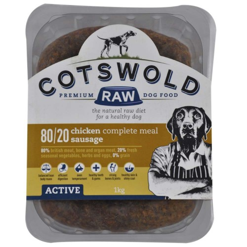 Cotswold Chicken Sausages 80/20 Active