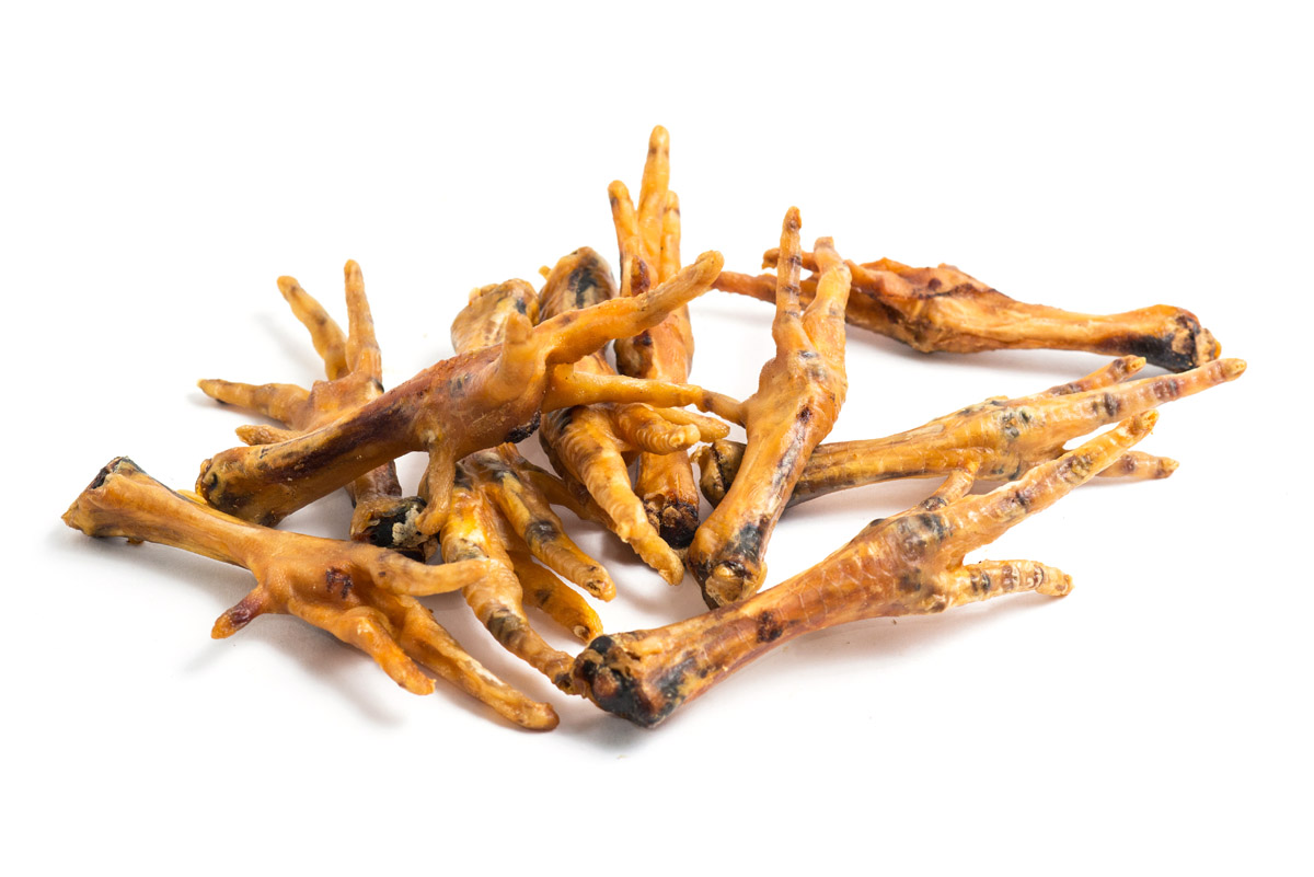 5 Dried Chicken Feet
