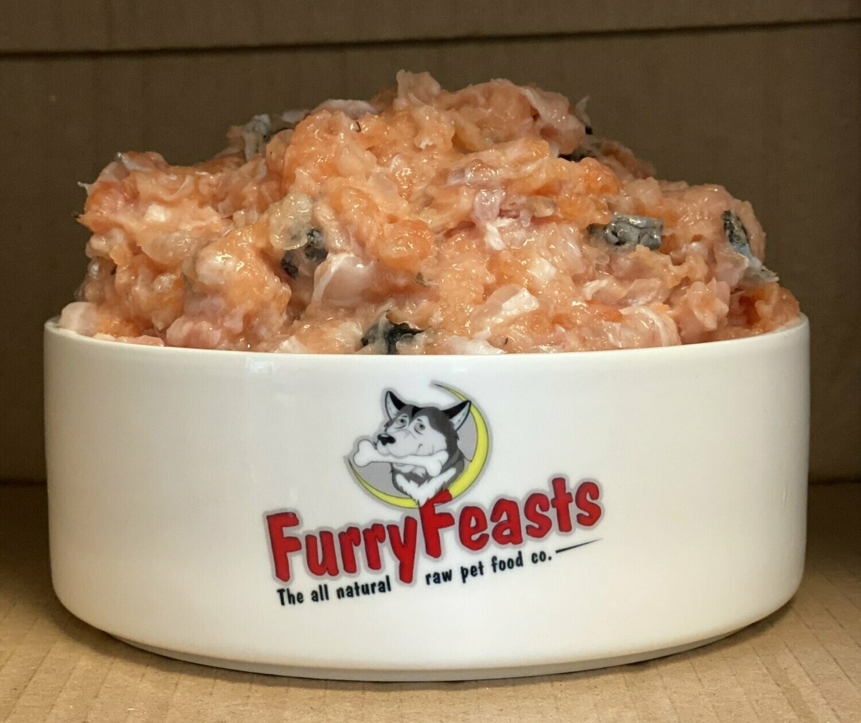 Salmon Mince (Boneless) - Furry Feasts
