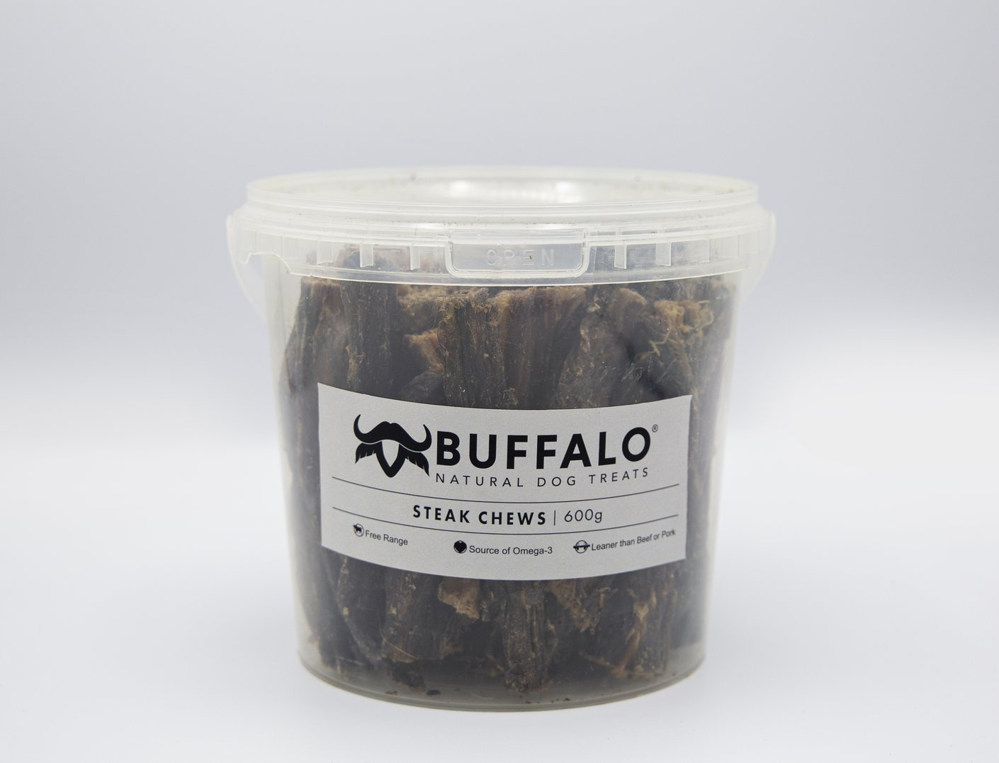 Buffalo Steak Chews Pot