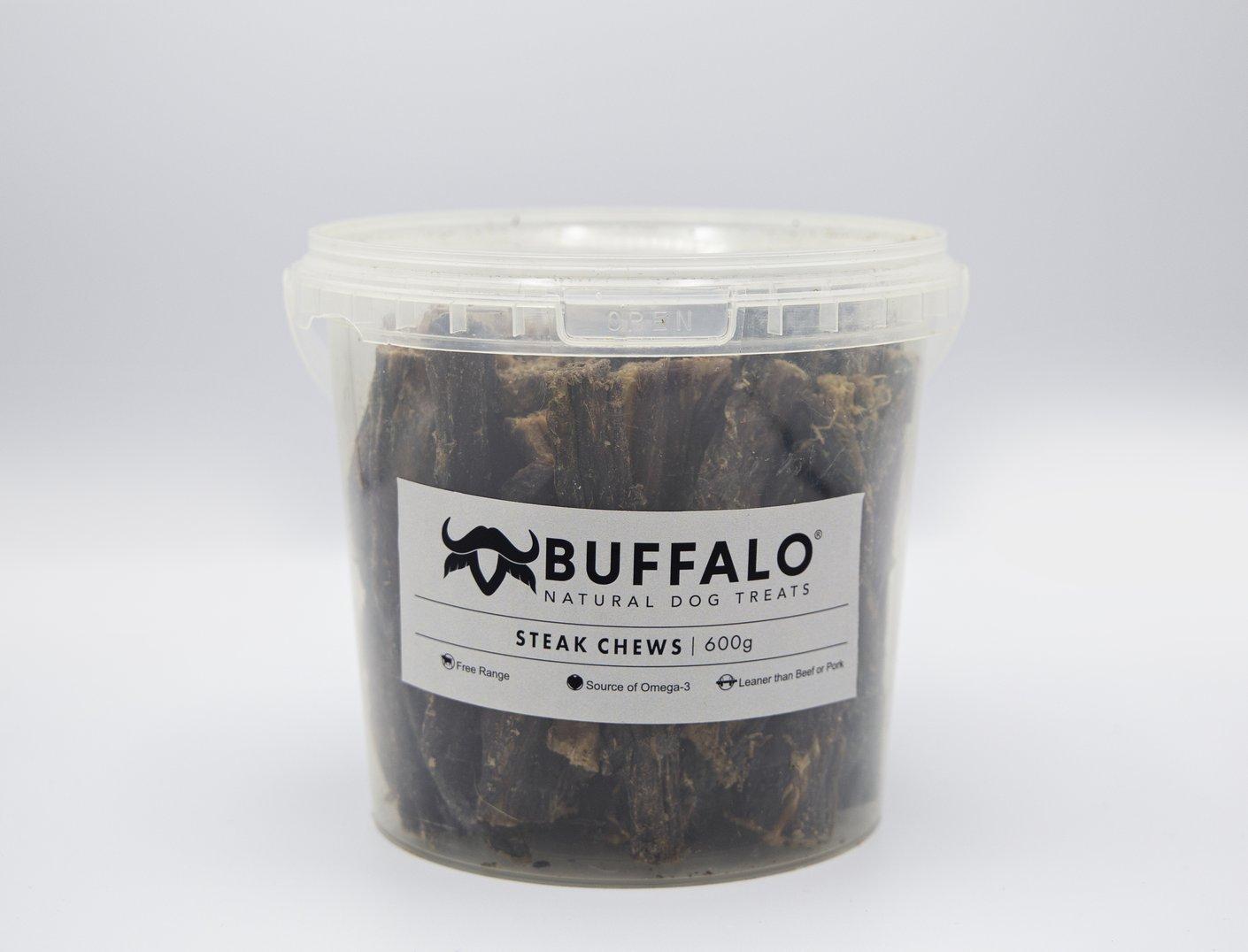 Buffalo Steak Chews Pot