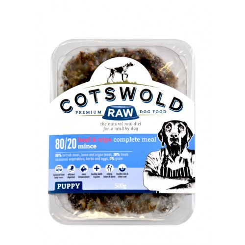 Cotswold Puppy Beef & Tripe Mince