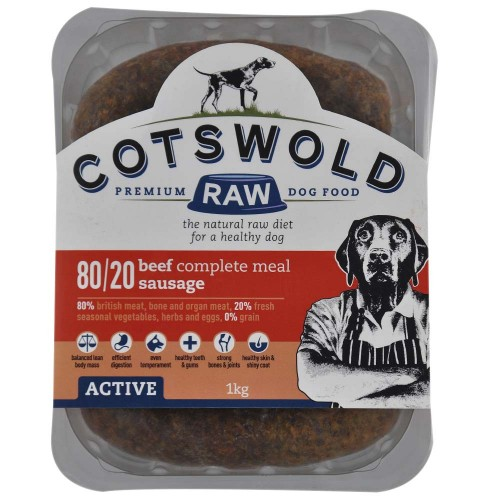 Cotswold Beef Sausages 80/20 Active