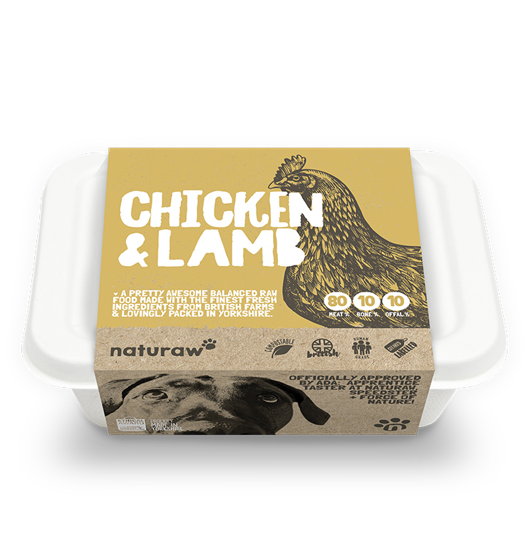 Naturaw Chicken & Lamb