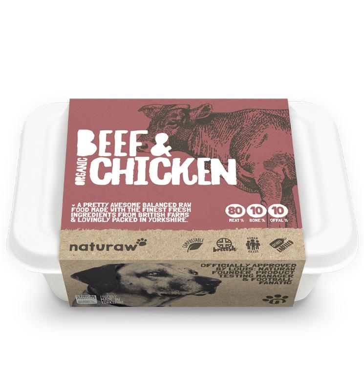 Naturaw Beef & Chicken