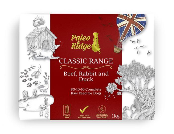 Beef, Rabbit & Duck Complete - Paleo Ridge
