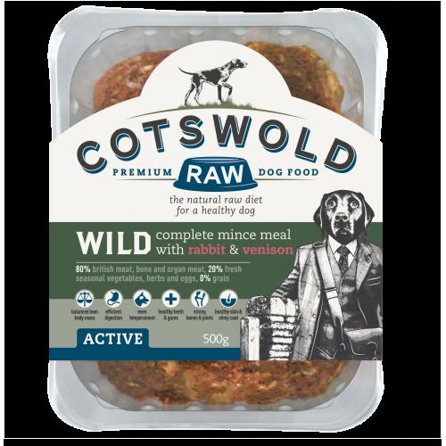Cotswold Wild Rabbit & Venison Mince 80/20