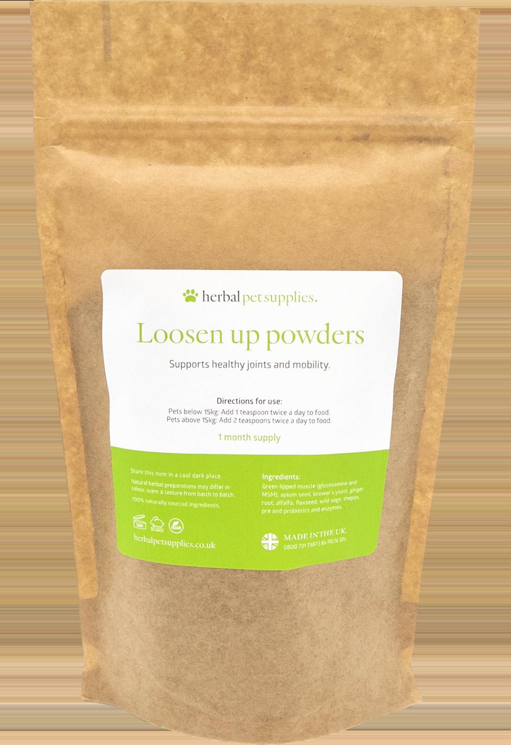 Loosen Up Powders