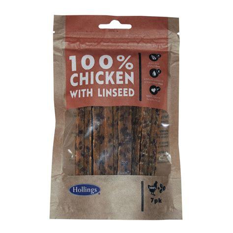 Hollings Chicken & Linseed Bars