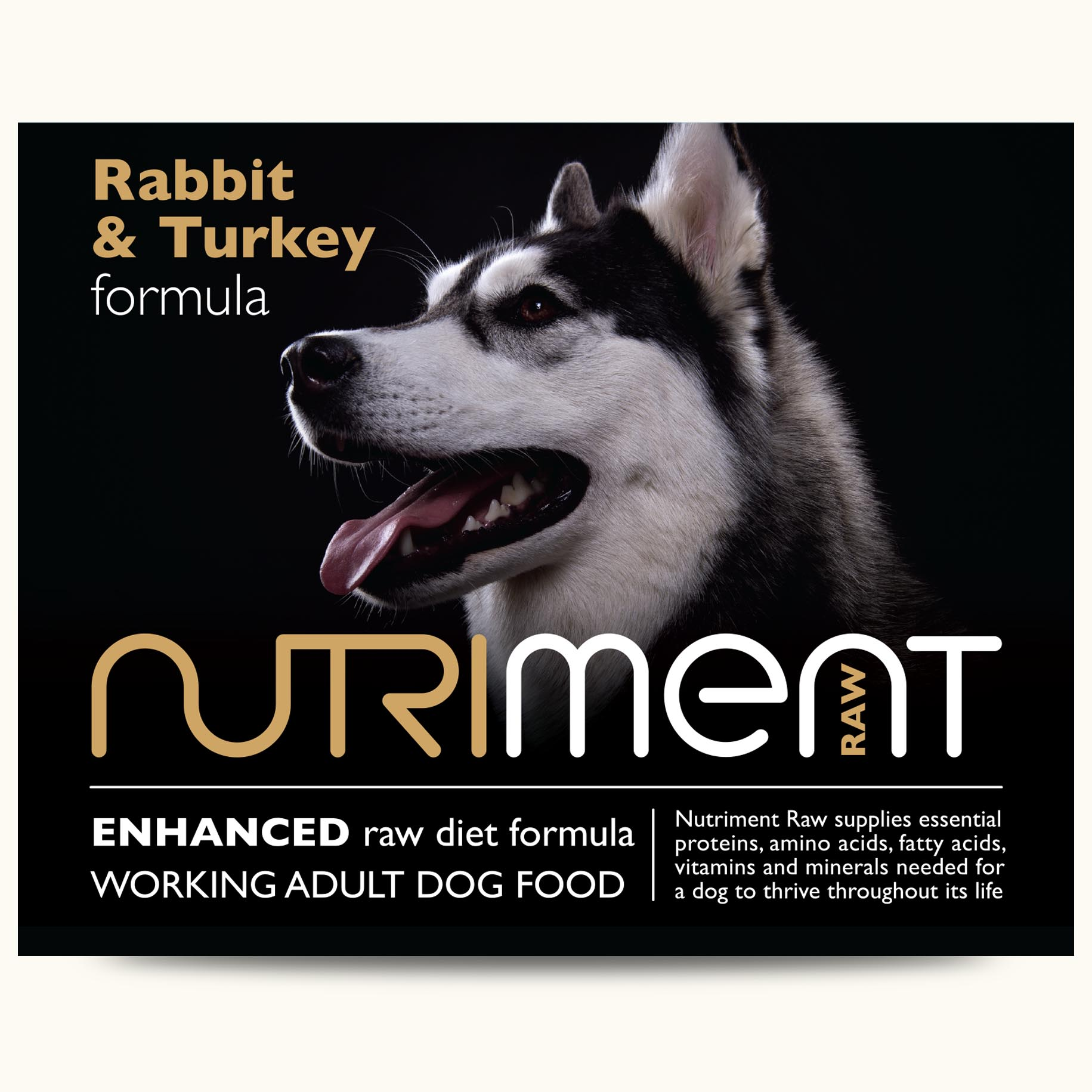 Nutriment Rabbit & Turkey Formula