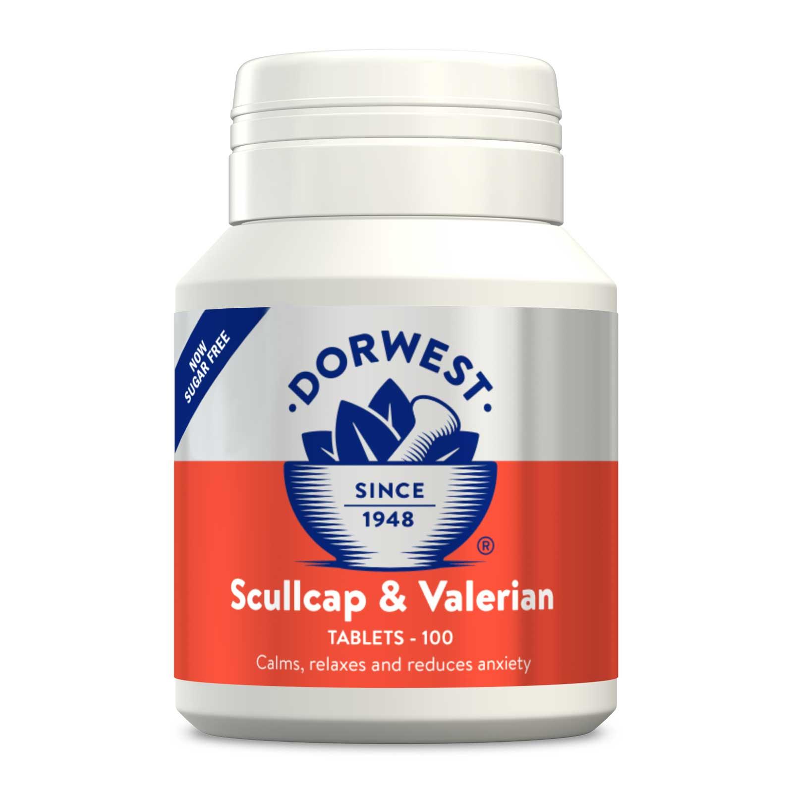 Dorwest Skullcap & Valerian Tablets