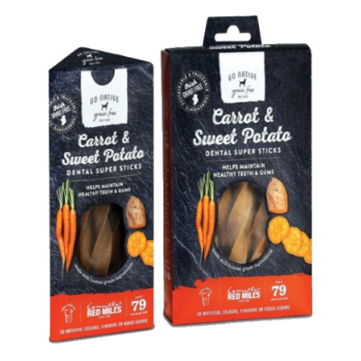 Go Native Carrot & Sweet Potato Sticks