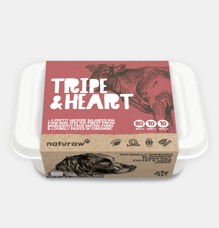 Naturaw Tripe & Heart with Duck