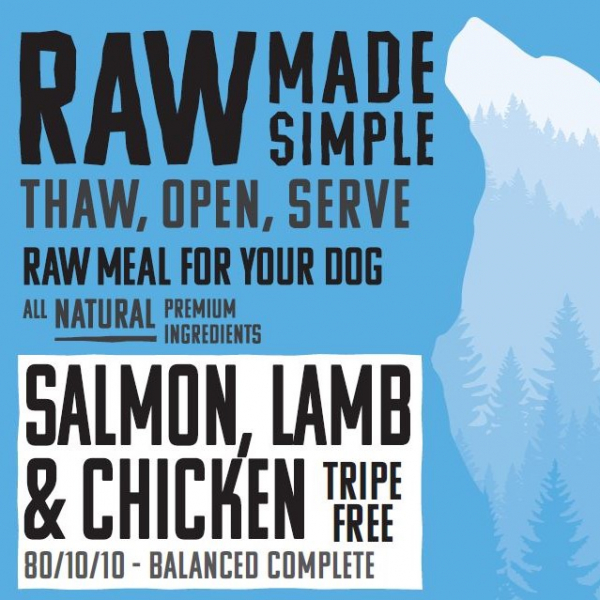 RMS Salmon, Lamb & Chicken