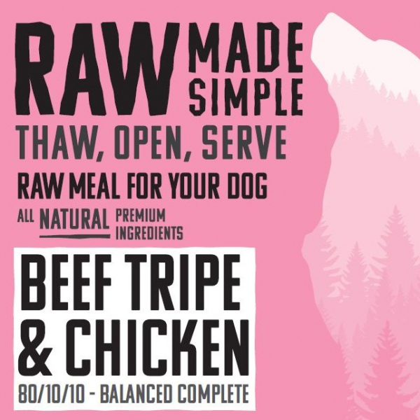 RMS Beef Tripe & Chicken Complete
