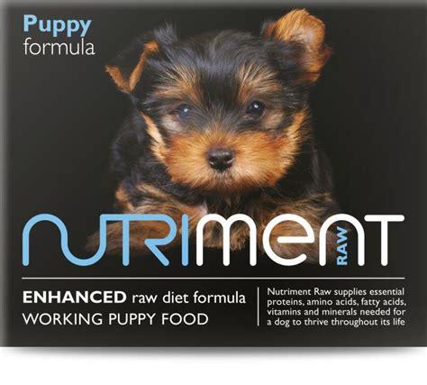 Nutriment Puppy Formula