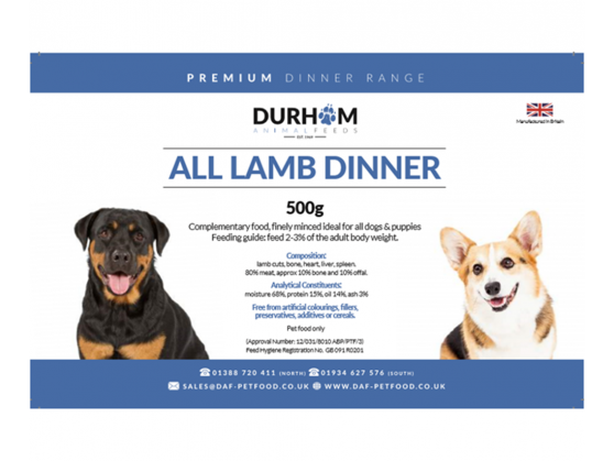Lamb Dinner Box  - DAF
