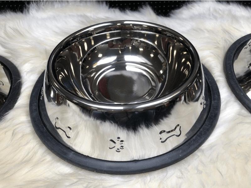 Hundenapf 2er-Set aus Dänemark - Edelstahl