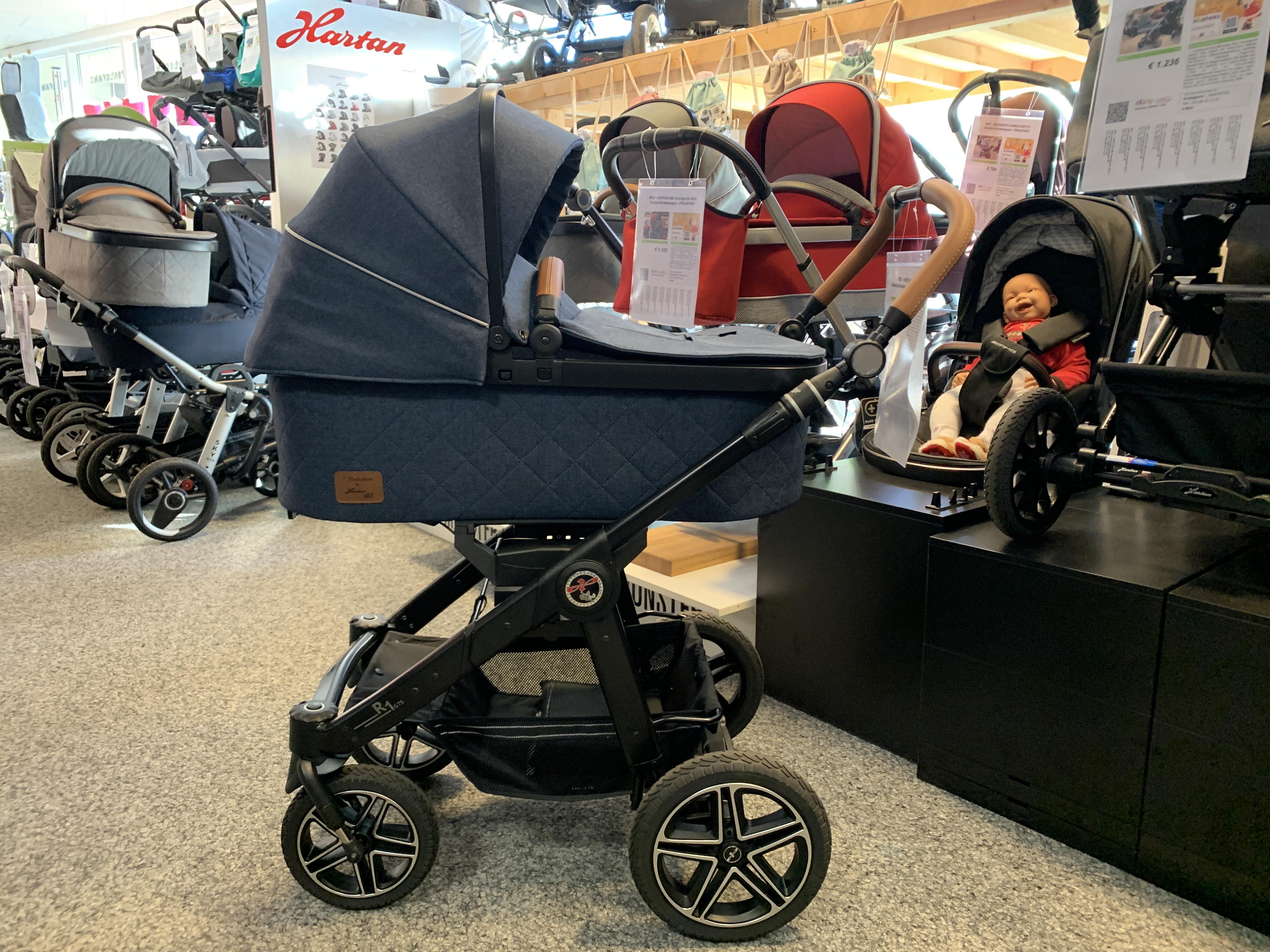 HARTAN R1 GTS (2021) Kombi-Kinderwagen