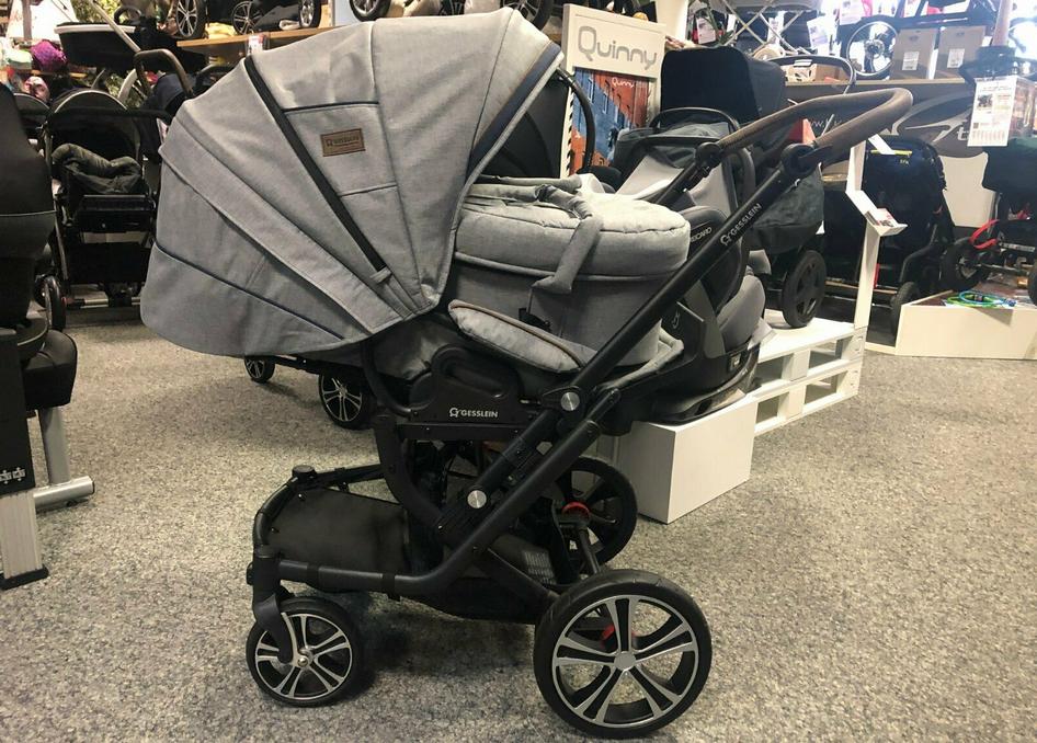 GESSLEIN F6 AIR+ (2020) Kombi-Kinderwagen