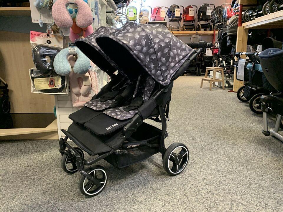 BABY MONSTERS Easy Twin 3s Zwillingswagen - Zwillings-Buggy