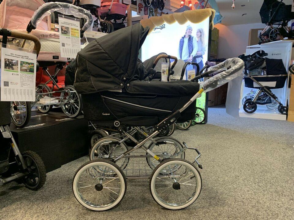 Emmaljunga Mondial Duo deLuxe Kombi-Kinderwagen - FIRLEFANZ