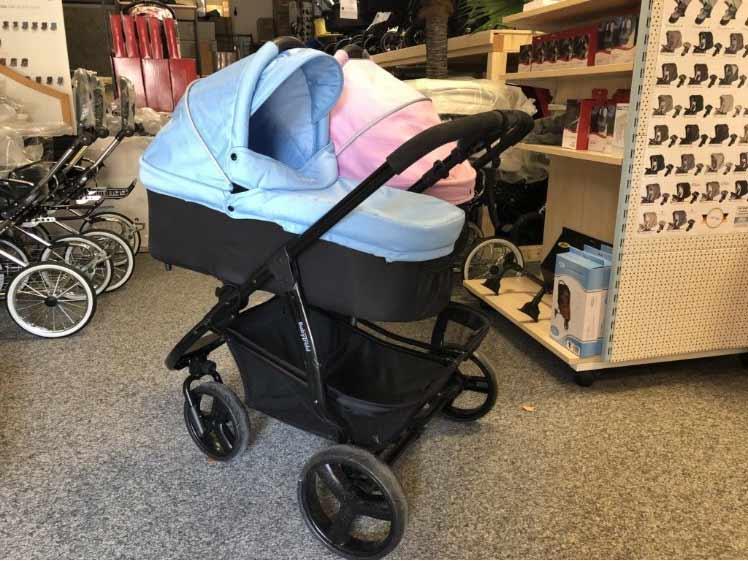 TRILLE BabyTrold Double Zwillingswagen - XXL-Set