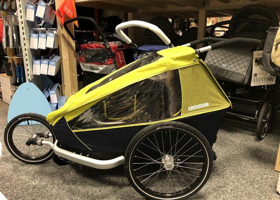 CROOZER Kid For 2 (2019) Sportwagen-Anhänger