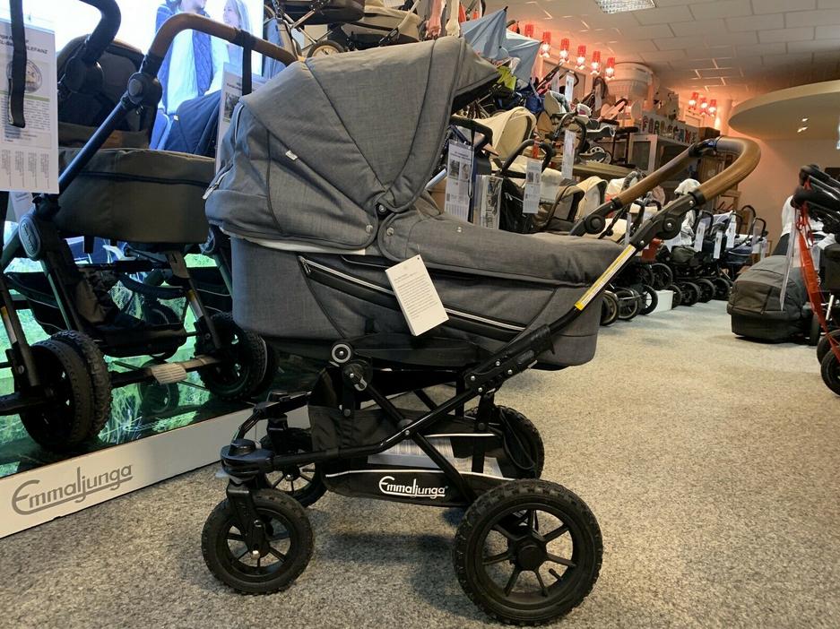 Emmaljunga Edge Duo S 2021 Kombi-Kinderwagen