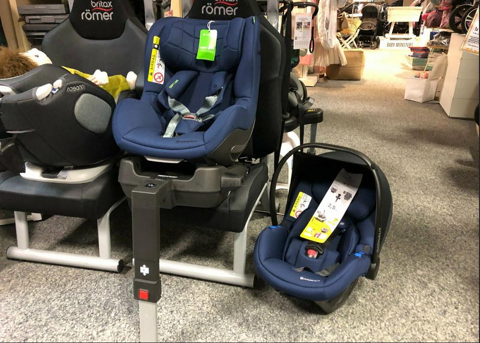 AVIONAUT Aerofix&Pixel Auto-Kindersitz Trio-Set
