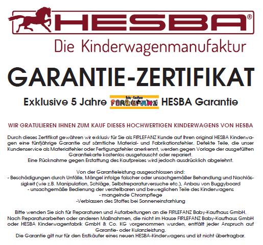 HESBA Condor Coupe Kombi-Kinderwagen - XXL-Set - Unikat