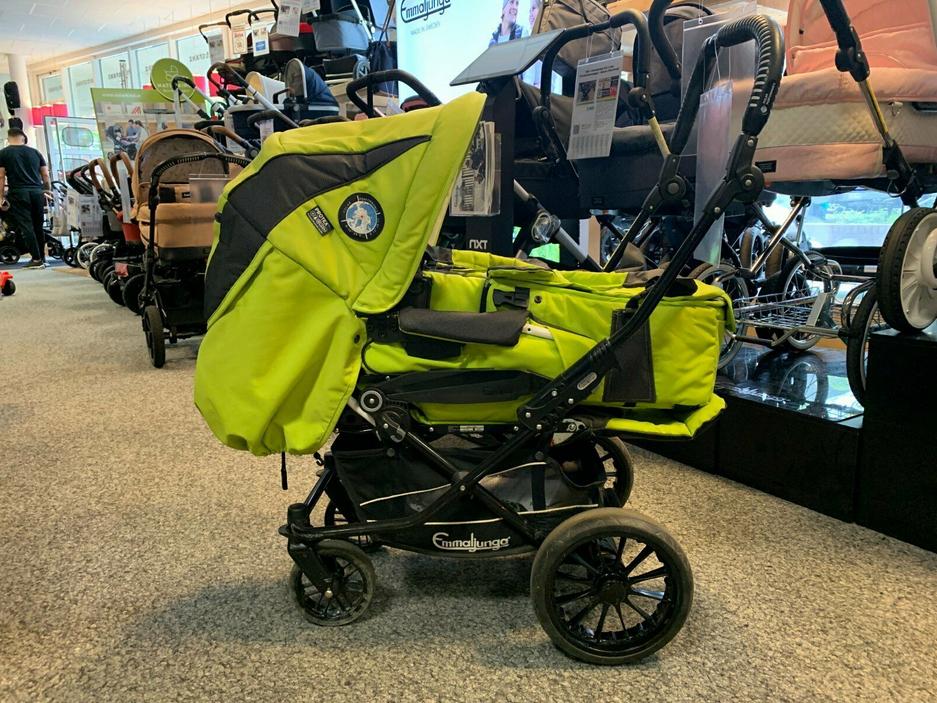 Emmaljunga Nitro City Kombi-Kinderwagen - XL-Set